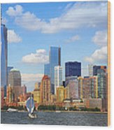 The New New York Skyline Wood Print