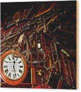 The Night Riders Homage 1939 The Bum Steer Restaurant Tucson Arizona 2005 Wood Print