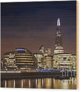 The Night Shard Wood Print by Donald Davis