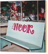 The Nook Wood Print