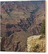 The Nooks And Cranies Of The Grand Canyon Wood Print