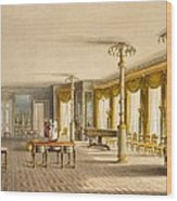 The North Drawing Room, Or Music Room Wood Print