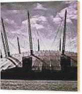 The O2 Arena Wood Print