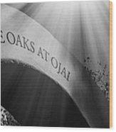 The Oaks At Ojai Wood Print