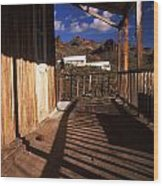 The Oatman Hotel Wood Print
