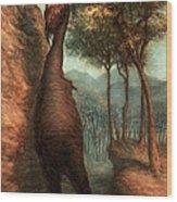 The Obliek Wood Print by Ethan Harris