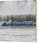The Oceans Energy Wood Print