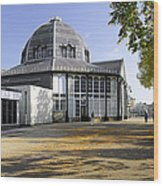 The Octagon - Buxton Pavilion Gardens Wood Print