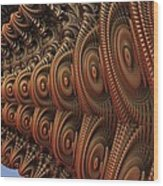 The Odd Beauty Of Fractals Wood Print