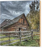 The Ol' Barn Wood Print