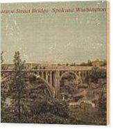 The Old Bridge Wood Print by Dan Quam