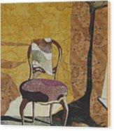 The Old Chair Wood Print by Lynda K Boardman
