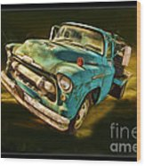 The Old Chevy Max Wood Print