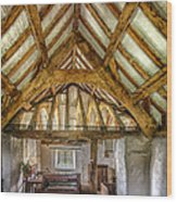 The Old Church Wood Print