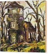 The Old Church Wood Print by Michelle Dommer