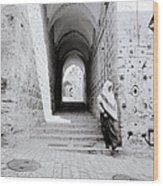 The Old City Of Jerusalem Wood Print