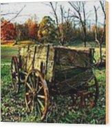 The Old Conestoga Wood Print