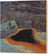 The Old Copper Mine Wood Print