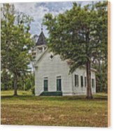 The Old Country Church Wood Print