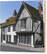 The Old Court Hall Hastings Wood Print