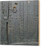 The Old Door Wood Print by France  Art