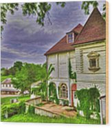 The Old Dugout - Leavenworth Va Wood Print