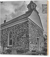 The Old Dutch Church Wood Print