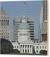 The Old Federal Courthouse St Louis Wood Print