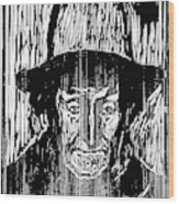 The Old Fisherman, 1899 Wood Print