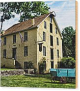 The Old Grist Mill  Paoli Pa. Wood Print