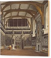 The Old Guard Chamber, The Round Tower Wood Print