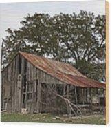 The Old Homestead Wood Print