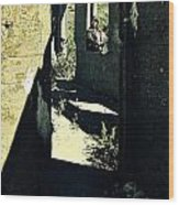 The Old Leper's Laundry Wood Print