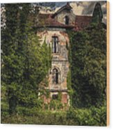 The Old Manor Wood Print