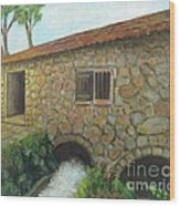 The Old Mill In Dubrovnik Wood Print