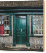 The Old Post Office Wood Print