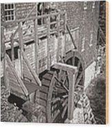 The Old Saw Mill Wood Print