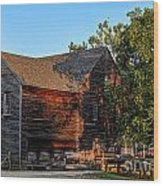 The Old Sawmill Wood Print by Olivier Le Queinec