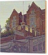 The Old Schools, Harrow Oil On Canvas Wood Print