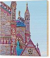 The Old South Church Boston Wood Print