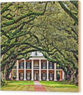 The Old South Wood Print by Steve Harrington