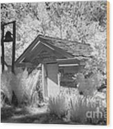 The Old Spring House Wood Print