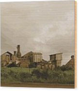 The Old Sugar Mill At Koloa Wood Print