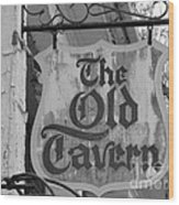 The Old Tavern Wood Print