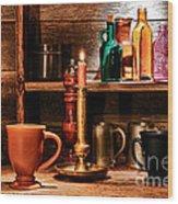 The Old Tavern Wood Print