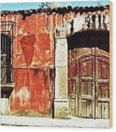 The Old Walls Wood Print