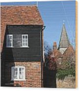 The Old Water Mill Bosham Wood Print