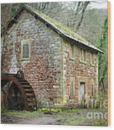 The Old Watermill Wood Print