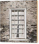 The Old Window Wood Print by Olivier Le Queinec