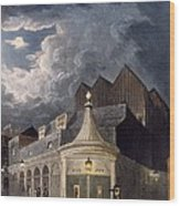 The Olympic Theatre, 1826 Wood Print
